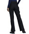 Photograph of Cherokee Form Women Mid Rise Moderate Flare Leg Pull-on Pant Black CK091-BLK