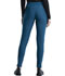 Photograph of Cherokee Form Women Mid Rise Tapered Leg Drawstring Pant Blue CK095-CAR