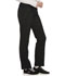 Photograph of Infinity Women Mid Rise Tapered Leg Drawstring Pants Black CK100A-BAPS