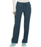 Photograph of Infinity Women's Mid Rise Tapered Leg Drawstring Pants Blue CK100A-CAPS