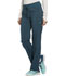 Photograph of Infinity by Cherokee Women's Mid Rise Tapered Leg Drawstring Pants Blue CK100A-CAPS