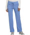 Photograph of Infinity by Cherokee Women's Mid Rise Tapered Leg Drawstring Pants Blue CK100A-CIPS