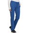 Photograph of Infinity by Cherokee Women's Mid Rise Tapered Leg Drawstring Pants Blue CK100A-RYPS