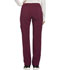Photograph of Infinity by Cherokee Women's Mid Rise Tapered Leg Drawstring Pants Red CK100A-WNPS