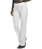 Photograph of Infinity by Cherokee Women's Mid Rise Tapered Leg Drawstring Pants White CK100A-WTPS