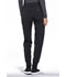 Photograph of Infinity Women's Mid Rise Tapered Leg Jogger Pant Black CK110A-BAPS
