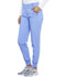 Photograph of Infinity Women's Mid Rise Tapered Leg Jogger Pant Blue CK110A-CIPS