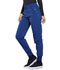 Photograph of Infinity Women's Mid Rise Tapered Leg Jogger Pant Blue CK110A-RYPS