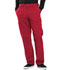 Photograph of Infinity Men Men's Fly Front Pant Red CK200A-RED