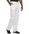 Photograph of Infinity Men's Men's Fly Front Pant White CK200A-WTPS