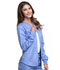Photograph of Cherokee Luxe Sport Women's Zip Front Warm-up Jacket Blue CK300-CELV