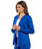 Photograph of Luxe Women's Zip Front Warm-up Jacket Blue CK300-GABV