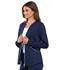 Photograph of Cherokee Luxe Sport Women's Zip Front Warm-up Jacket Blue CK300-NAVV