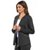 Photograph of Luxe Sport Women's Zip Front Jacket Gray CK300-PEWV