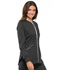 Photograph of Cherokee Luxe Women's Zip Front Warm-up Jacket Gray CK300-PEWV