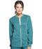 Photograph of Luxe Sport Women's Zip Front Warm-up Jacket Green CK300-TEAV