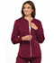 Photograph of Cherokee Luxe Women's Zip Front Warm-up Jacket Red CK300-WINV
