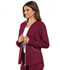 Photograph of Luxe Sport Women's Zip Front Warm-up Jacket Red CK300-WINV
