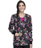 Photograph of Cherokee Prints Women Snap Front Warm-up Jacket Bouquets Of Hope CK301-BQOH