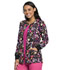 Photograph of Cherokee Prints Women Snap Front Warm-up Jacket Doodle You Care CK301-DDCA