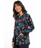 Photograph of Cherokee Prints Women's Snap Front Warm-up Jacket Falling Rainbow CK301-FLBW