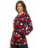 Photograph of Cherokee Prints Women Snap Front Warm-up Jacket Heart Smart CK301-HTSM