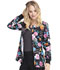 Photograph of Cherokee Prints Women's Snap Front Warm-up Jacket Love Is Beautiful CK301-LVBA