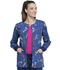 Photograph of Cherokee Prints Women Snap Front Warm-up Jacket Piece Of My Heart CK301-PYHT