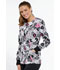 Photograph of Cherokee Prints Women Snap Front Warm-up Jacket Paisley Love CK301-PYLV