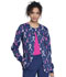 Photograph of Cherokee Prints Women's Snap Front Warm-up Jacket Rosy Ribbons CK301-RORI