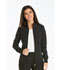 Photograph of iFlex Women's Zip Front Jacket Black CK303-BLK