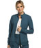 Photograph of iFlex Women's Zip Front Warm-Up Jacket Blue CK303-CAR