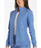 Photograph of iFlex Women's Zip Front Warm-Up Jacket Blue CK303-CIE