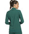 Photograph of iFlex Women's Zip Front Warm-Up Jacket Green CK303-HUN