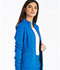Photograph of iFlex Women's Zip Front Warm-Up Jacket Blue CK303-ROY