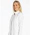 Photograph of iFlex Women's Zip Front Warm-Up Jacket White CK303-WHT