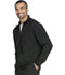 Photograph of Infinity Men's Men's Zip Front Jacket Black CK305A-BAPS