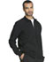 Photograph of Infinity by Cherokee Men's Men's Zip Front Jacket Black CK305A-BAPS