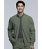Photograph of Infinity Men 'Men's Zip Front Jacket Green CK305A-OLPS