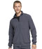 Photograph of Infinity by Cherokee Men's Men's Zip Front Jacket Gray CK305A-PWPS