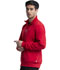 Photograph of Infinity Men's Men's Zip Front Jacket Red CK305A-RED