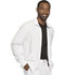 Photograph of Infinity Men's Men's Zip Front Jacket White CK305A-WTPS