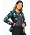 Photograph of Flexibles Women Zip Front Knit Panel Jacket Botanic Flutters CK307-BOFT
