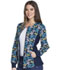 Photograph of Cherokee Flexibles Women's Zip Front Knit Panel Jacket Put A Wing On It CK307-PWTP