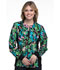 Photograph of Flexibles Women's Zip Front Knit Panel Jacket Tropical Tango CK307-TRTG