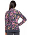 Photograph of Cherokee Flexibles Women's Zip Front Knit Panel Jacket Easy Streak CK308-EASY