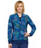 Photograph of Flexibles Women's Zip Front Knit Panel Jacket Wild Confetti CK308-WDCF