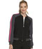 Photograph of Infinity Women Zip Front Warm-up Jacket Black CK310A-BAPS