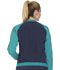 Photograph of Infinity Women Zip Front Warm-up Jacket Blue CK310A-NYPS