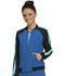 Photograph of Infinity by Cherokee Women's Zip Front Warm-up Jacket Blue CK310A-RYPS